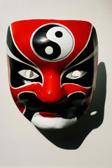 Close-up of Chinese mask