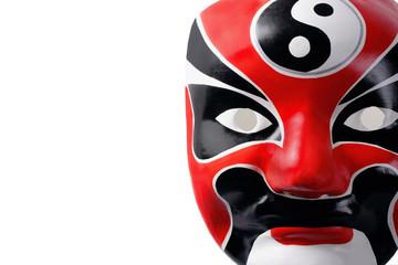 Close-up of Chinese mask