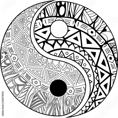 Cute Yin Yang Coloring Sheets Coloring Pages
