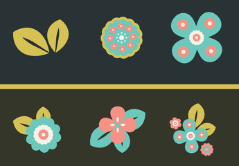 12 Flower Icons