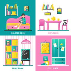 Baby Room Furniture 2x2 Design Concept