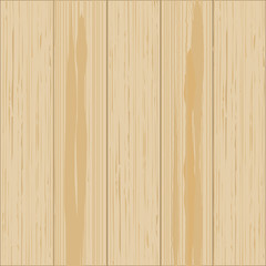 Wooden background. Wood texture, pine board illustration