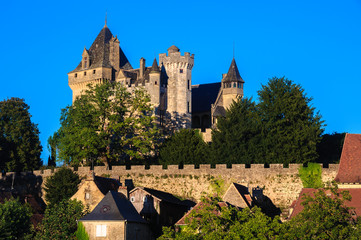 Castle of Montfort, Dordogne department (France)