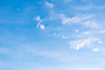 Blue sky with cloud, nature background