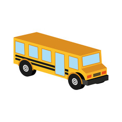 bus yellow school icon design vector illustration eps 10