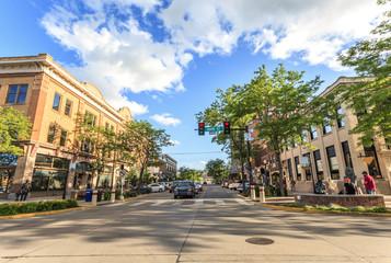 Rapid City in South Dakota, USA