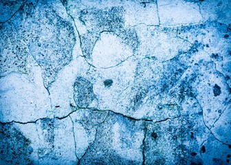 Close up of very old concrete