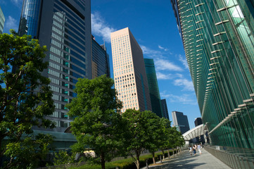 汐留・超高層ビル街