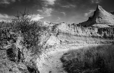 Dry Arroyo near Pawnee Buttes