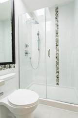 Modern bathroom, interior design