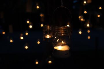 Velas y luces de noche