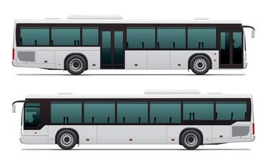 Bus. City transport.