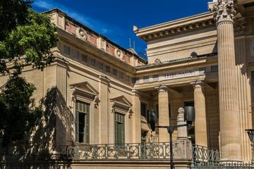 Court house, or Palais de Justice (1846). Nimes, France.