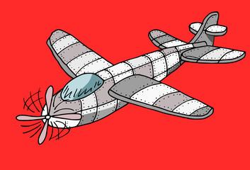 speelgoedvliegtuig