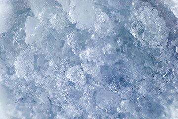 Ice cube texture color soft blue
