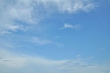 Blue sky at Thailand sea.