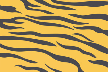 Tiger skin illustration