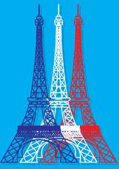 Tour Eiffel pop art