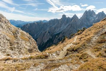 Drei Zinnen Panorama Dolomiten