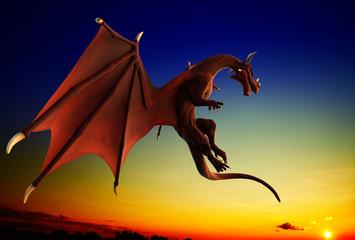blue sky red dragon war