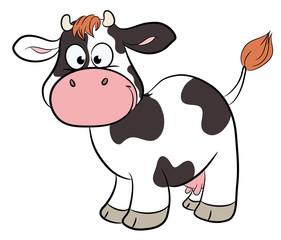 Niedliche Kuh