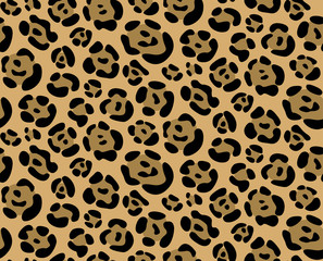 Seamless texture leopard pattern
