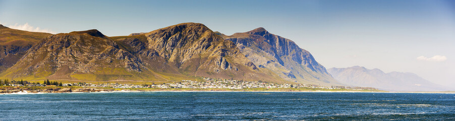 Staande foto Zuid Afrika Hermanus Panorama South Africa