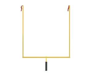 3d illustration of football uprights