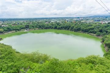 Laguna de Tiscapa, Managua, Nicaragua