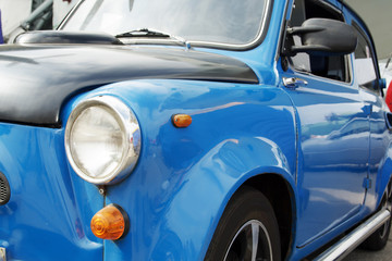 vintage car on a festival of old cars