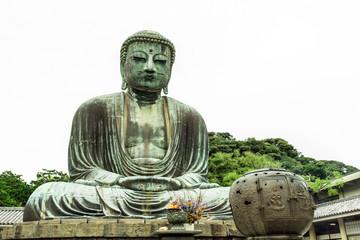 The Great Buddha Daibutsu (Amida Buddha) of  Kotokuin Temple in