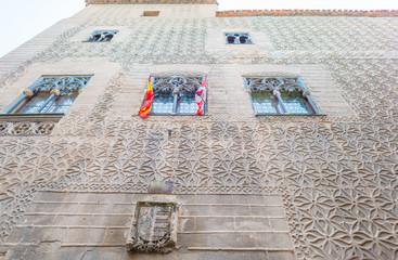 Historic buildings in Segovia
