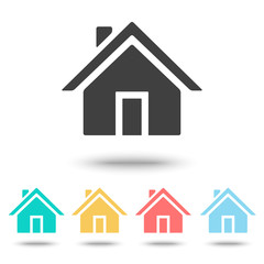 Home icon isolated