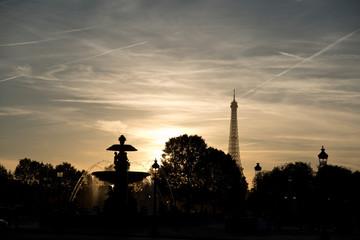 Sunset in Paris 4