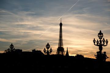 Sunset in Paris 1
