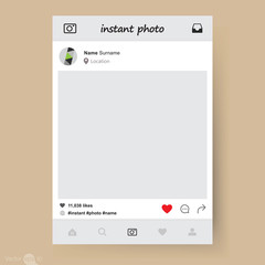 Photo application template