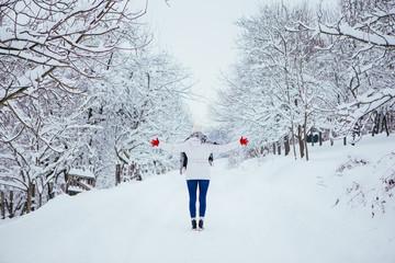 Got to love snow