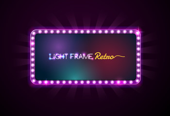 light frame,light sign