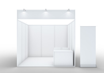 Exhibition Stall Mockup : Search photos stand