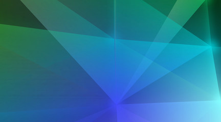 Neon material flat colorful design, lines, triangles modern background