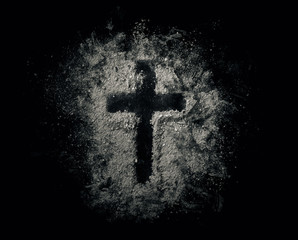 Cross in the ashes
