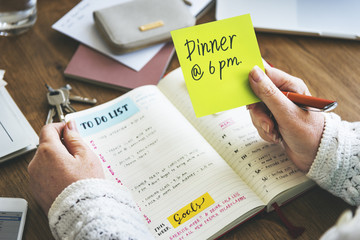 Weekly Planner Diary Organize To Do List Concept
