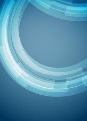 Abstract rings background rectangle format
