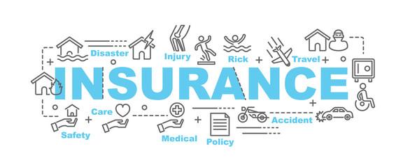 insurance vector banner