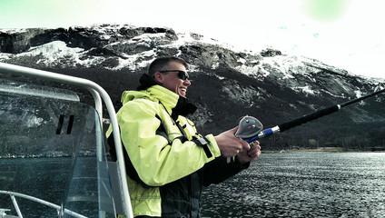 Norwegen Fischer