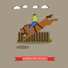 American Rodeo rider tries dressage horse