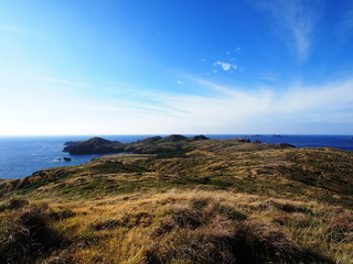 聟島(ケータ島) 大山からの眺め