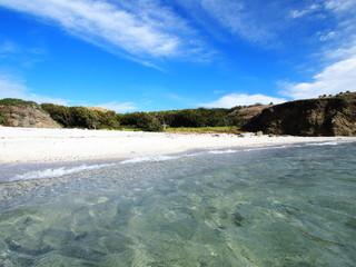 聟島(ケータ島) 南浜の砂浜