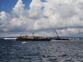 東京湾 第二海堡