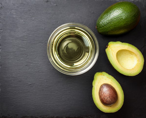 oil and avocado